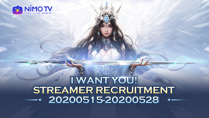 NIMO TV Indonesia Streamer Recruitment is Now On!