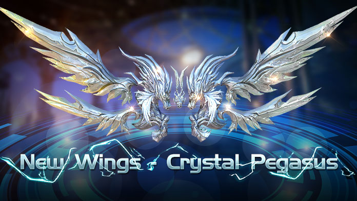 Get the gorgeous Wings - Crystal Pegasus at New Event Lucky Tree