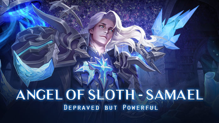 Angel of Sloth - Samael is coming with Treasure Hunt