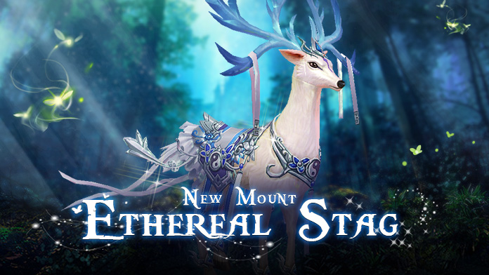 Win the Gorgeous Mount - Ethereal Stag at Gabrielle's Gift
