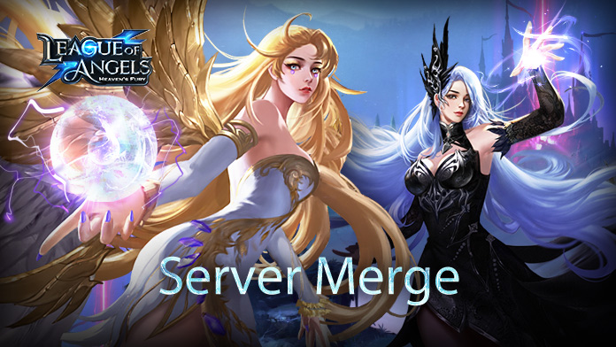 Information for the Server Merge on 25 August
