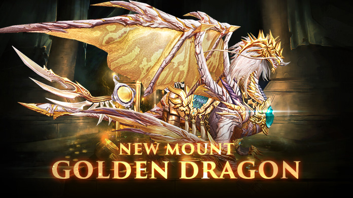 Win the Gorgeous Mount – Golden Dragon at Gabrielle's Gift