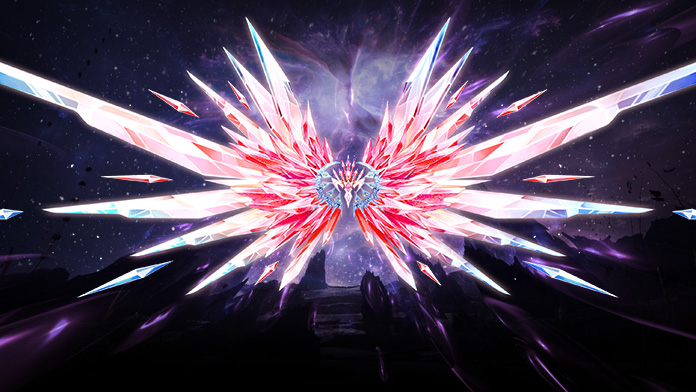 Get the gorgeous Wings – Heart of Crystal at Lucky Tree