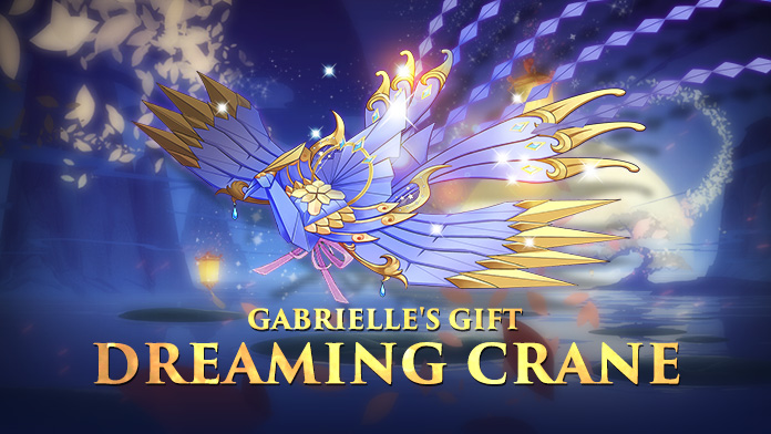 Win the Gorgeous Mount – Dreaming Crane at Gabrielle's Gift