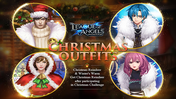 Get New Outfits & Divine Weapon - Christmas Reindeer & Winter's Warm at the Christmas Event