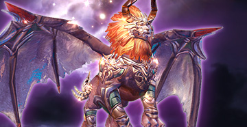 New Mount - Winged Lion