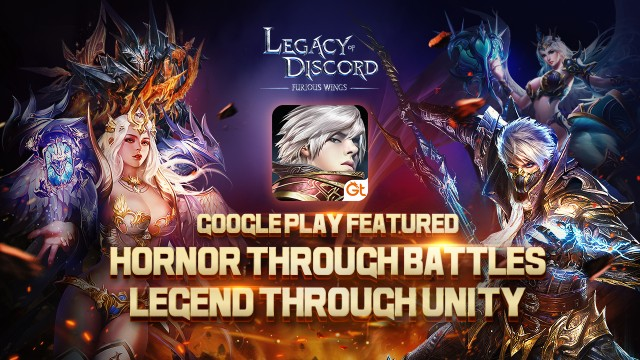 Legacy of Discord Featured on Google Play!_GTArcade Legacy of Discord