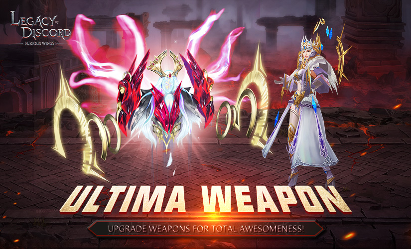 New Update and Ultima Weapon
