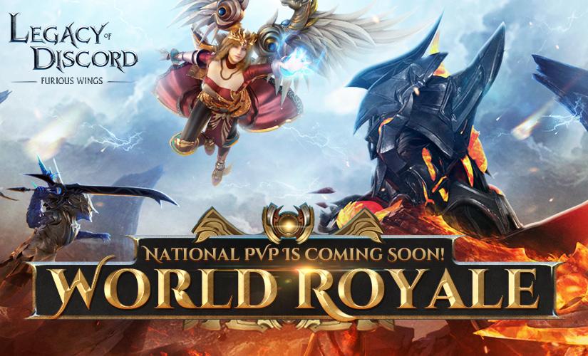 Monde Royal disponible sur tous les serveurs