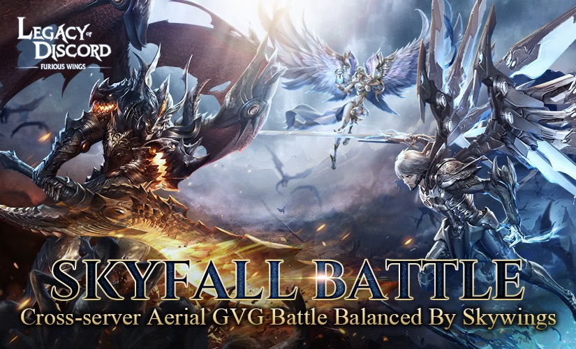 New Update Comes with Skyfall Battle and SkyWing Awaken