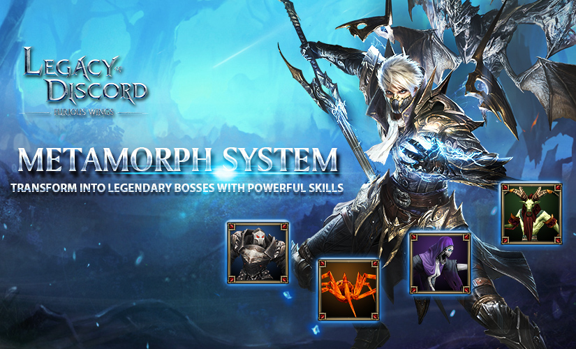 New Update Comes with Metamorph