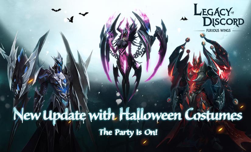 Costumes et la Fête de Halloween