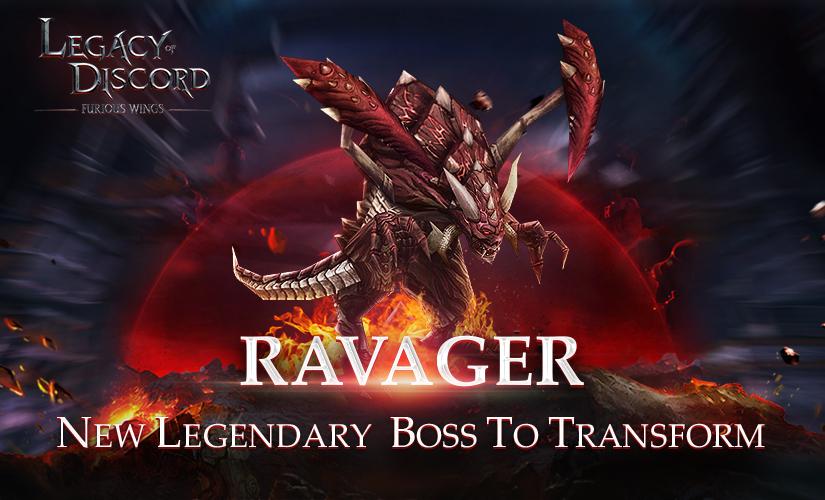 ¡Nueva Transformación de Jefe Depredador ha descendido!