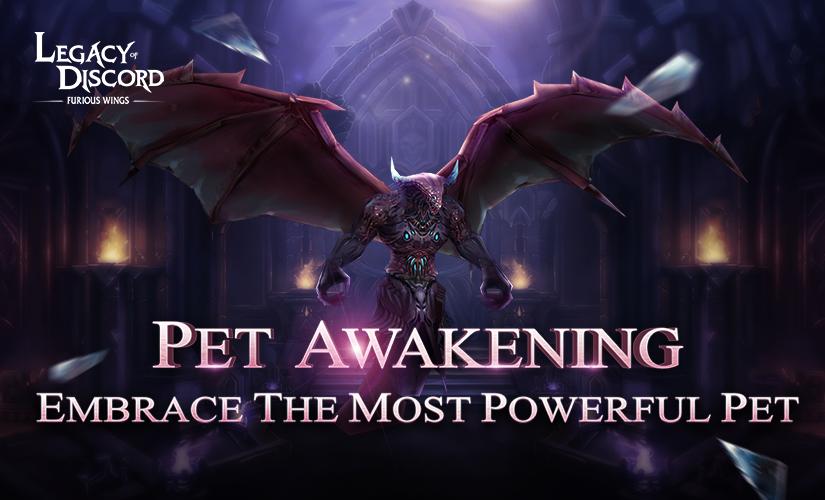 More Fun With New Feature: Pet Awaken
