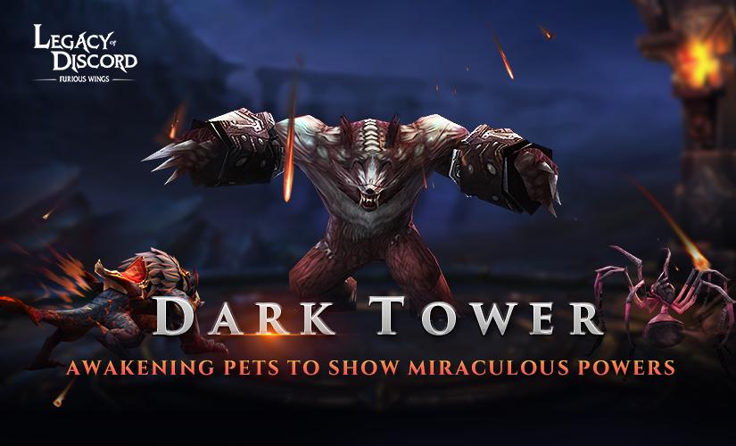 Nueva Actualización con Torre Oscura