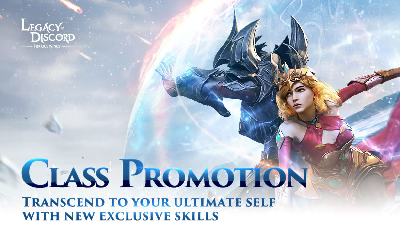 LoD Updates with Christmas Events And Class Promotion System