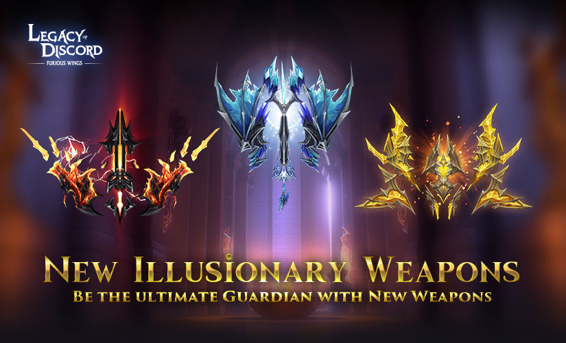 New Illusionary Weapons Arrives in LoD