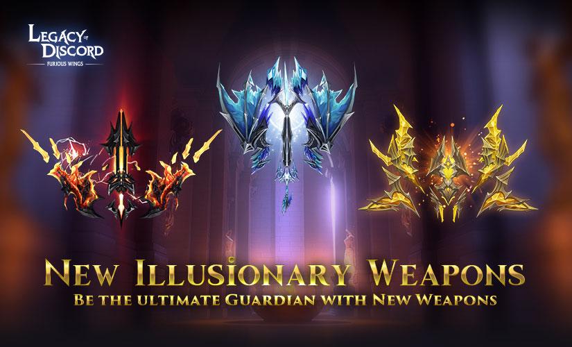 Nouvellew Armes d'Illusion arrivent dans LoD