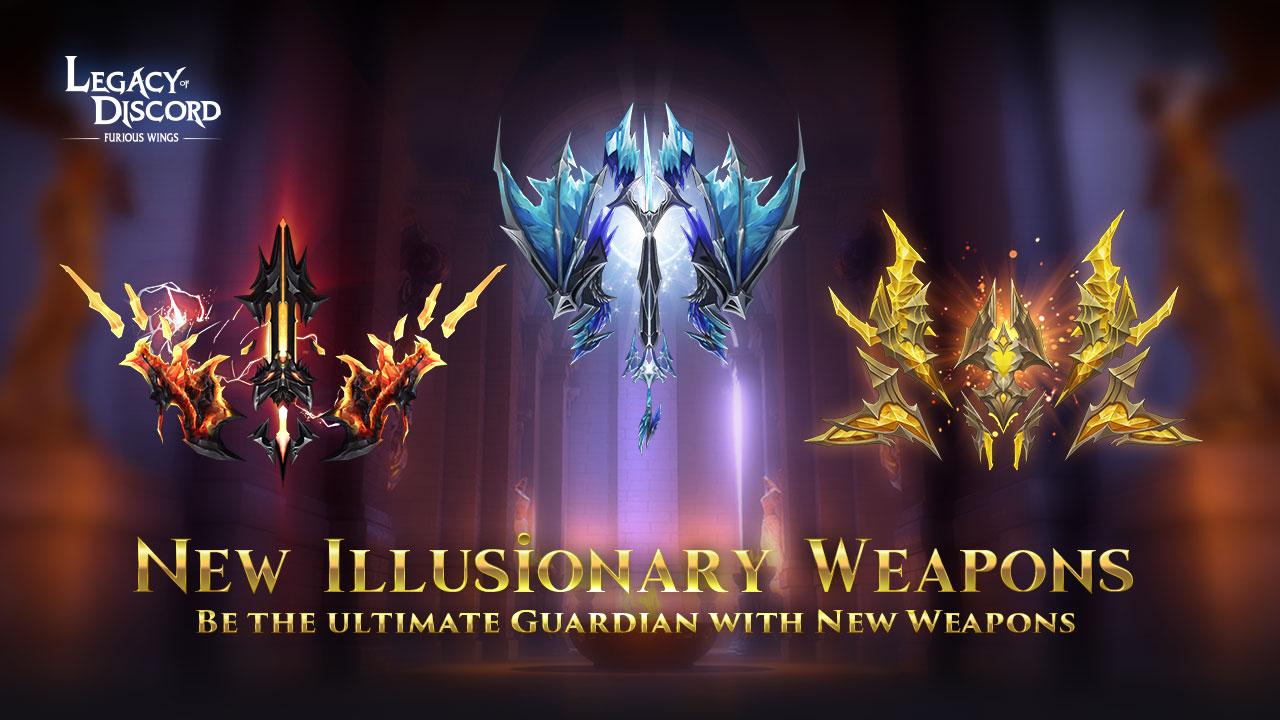 Новое Иллюзорное оружие в LoD