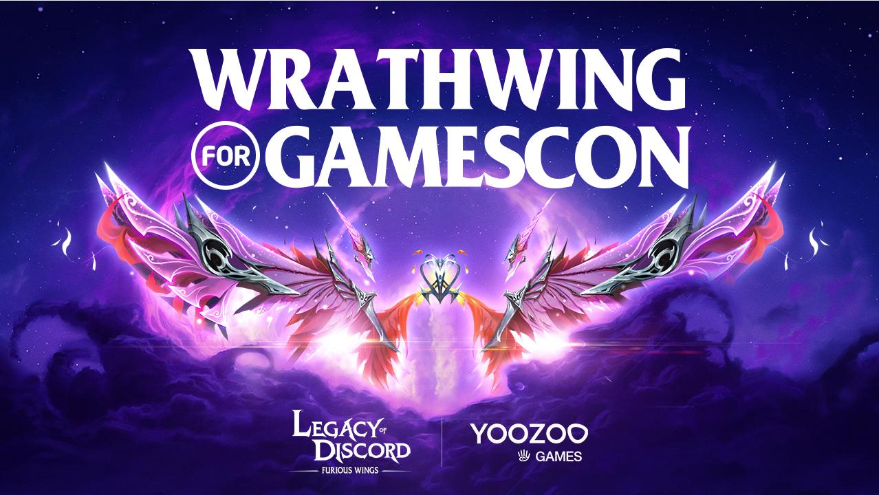 Новые Крылья и Событие в Legacy of Discord в честь Gamescom