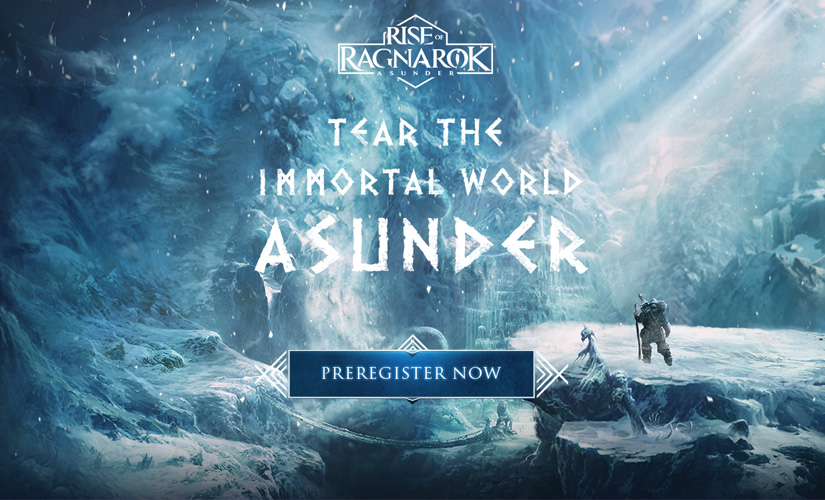 Rise of Ragnarok – Asunder, the mobile MMOARPG opens pre-registration!